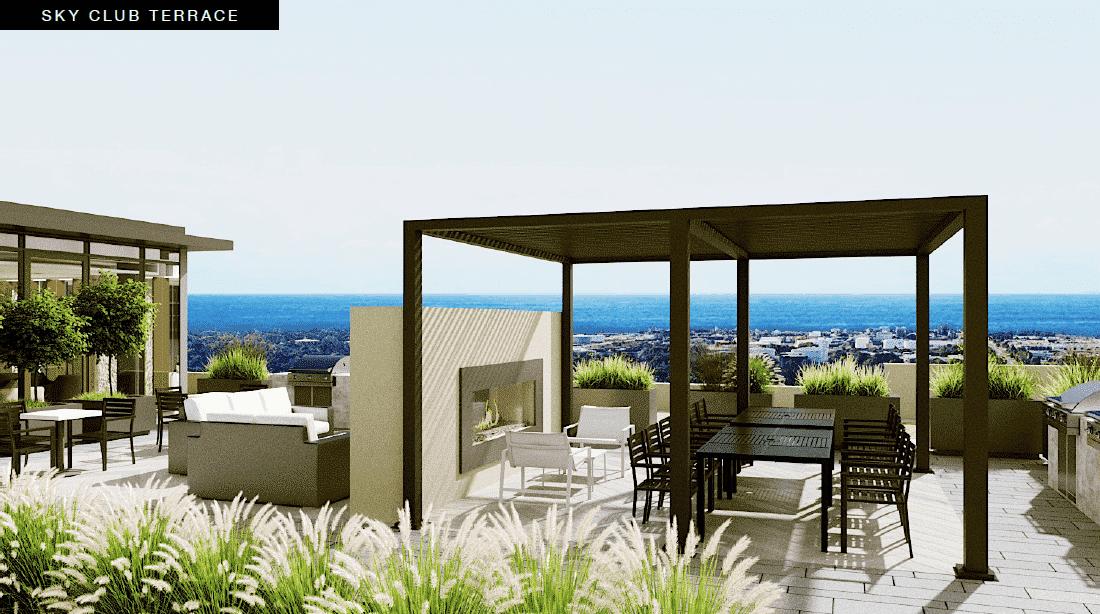sky club terrace